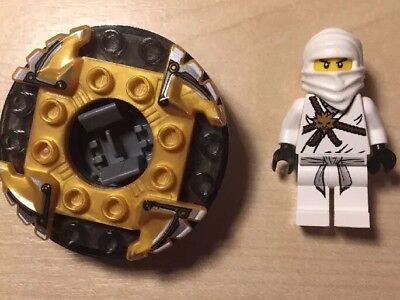 Zabawki konstrukcyjne NEW 2 Lego Ninjago Minifigures Jay & Krazi BLUE NINJA & SKELETON MINIFIGS
