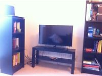 Twins bookcases and TV stand