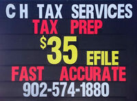 Personal Tax Returns Prepared, Any Year for just $35 each!