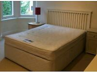 Double bed (Inc Base, Mattress & headboard)