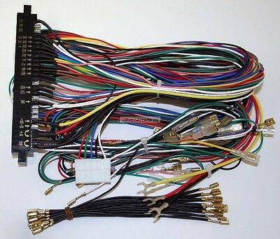 JAMMA Mame Cabinet Wiring Harness Loom Multicade Arcade Video Game PCB cable