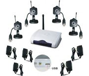 Wireless Security Camera System USB