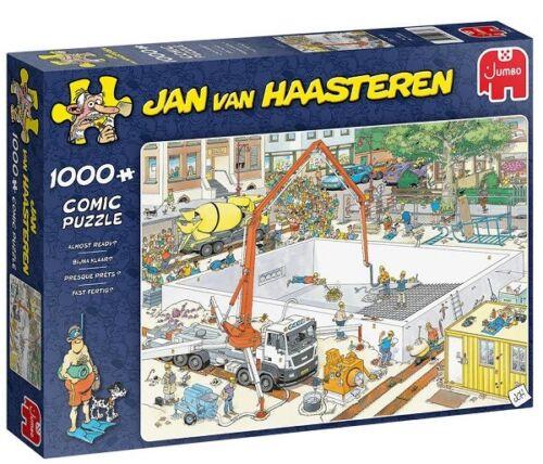 Jumbo Jan Van Haasteren 1000 Piece Jigsaw Puzzle - Almost Ready?
