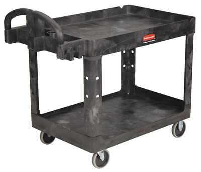 Utility Cart,500 lb. Load Cap. RUBBERMAID FG452088BLA