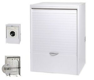 Mobile coprilavatrice copri lavatrice asciugatrice serrandina in resina esterno ebay - Copertura lavatrice da esterno ...