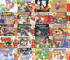 NINTENDO 64 GAMES ACCESSORIES RARE COLLECTORS ITEMS BRAND NEW N64 East Brisbane Brisbane South East Preview