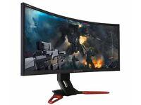 "35"" Acer Predator Z35 Curved 144Hz (200Hz OC) NVIDIA G-Sync v2 Gaming Monitor,"