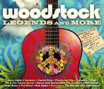 cd - various  - WOODSTOCK LEGENDS AND MORE (nieuw)