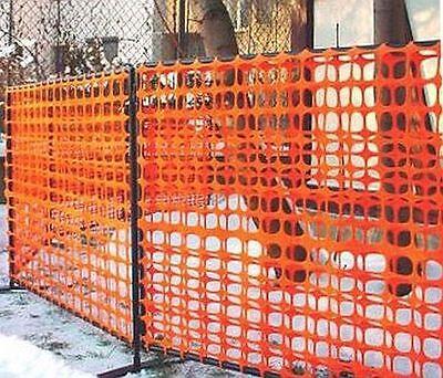 Schutznetz Warnnetz Bauzaun Wildzaun Zaun Netz 1 x 30 Meter