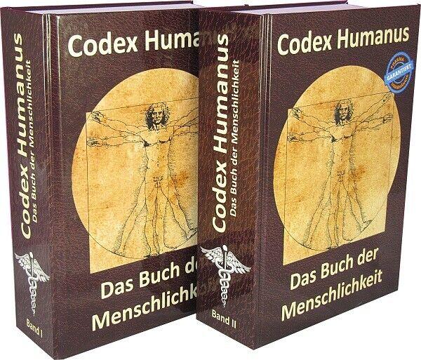 Codex Humanus Band 1 & 2 - Das Buch der Menschlichkeit