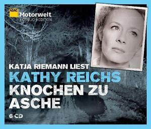 6 CD`s Hörbuch Knochen zu Asche, ADAC Edition