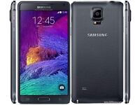 Samsung Note 4 16gb Unlocked To All Networks - White - Black - £250 - With Warranty
