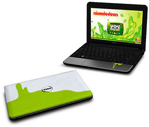 Dell inspirion mini laptop computer limited edition nickelodeon