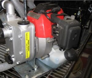 Water pump 1' with hose