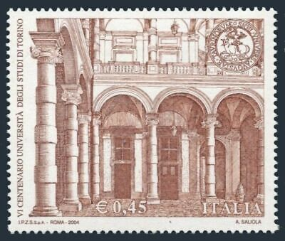 Italy 2611, MNH. University of Turin, 600th Ann.2004.