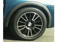 4 fox racing alloy wheels