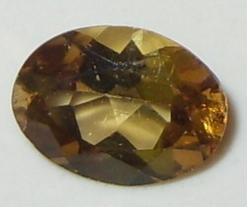 1.34ct Valuable Natural Tanzanian Gold Chrysoberyl Oval 8x6mm