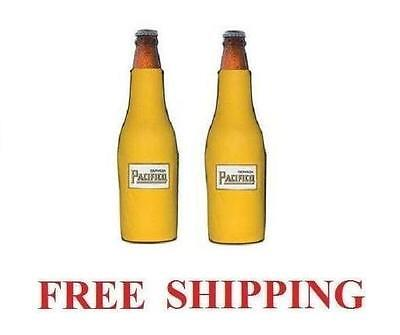 PACIFICO CLARA BEER LOGO 2 BOTTLE COOLERS COOZIE COOLIE KOOZIE NEW