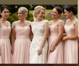 4 Brand new unworn bridesmaid lables still on
