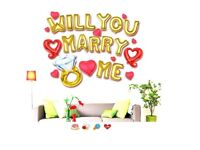 Will you marry me balloons