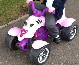 Girls quad bike ride on toy