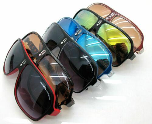 Carrera Big Frame Herren- und Damen-Sonnenbrille Square Matte Frame Retro-Brille