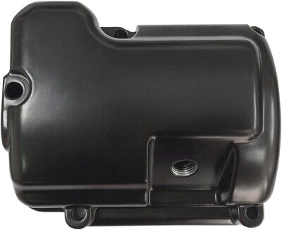 Drag Specialties Transmission Top Cover Black #174470