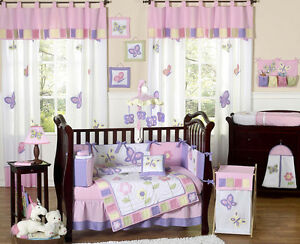 Multi bedroom items for baby girl nursery