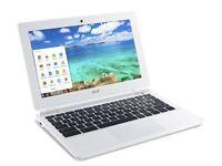 acer chromebook 11.6 laptop 1 month old