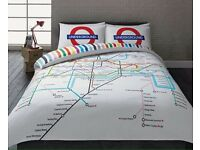London tube map bedding double