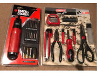 Cordless Screwdriver set & toolkit set