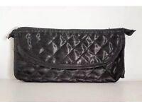 Black Quilted Make-Up Brushes Bag