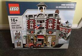 BRAND NEW Lego Creator Fire Brigade 10197 £240