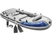 Intex 5 person boat