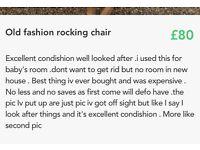 Old fashion rocking chair