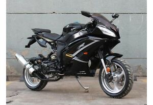 New! 50cc street legal sportbike