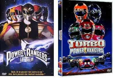 Powerrangers der Film + Turbo Power Rangers Original, 90er, DVD Set, keine Box (Power Rangers Dvds)