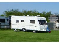 2006 Bailey Senator Vermont Series 5, 2-Berth Caravan with Isabella Porch Awning