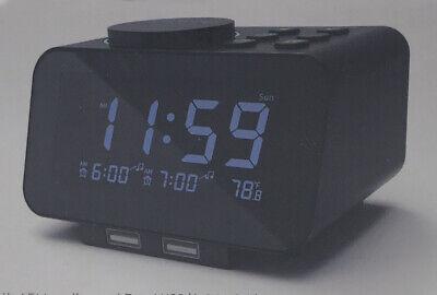 Radio Alarm Clock With Usb Charger