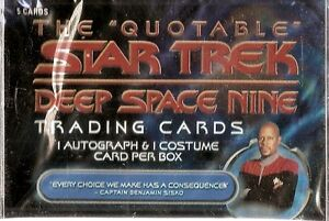 2007 The Quotable Star Trek  Card Set & Free Plastic Case