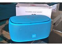 Bluetooth speaker boxed excellent