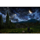 STARRY NIGHT PERSPECTIVE 24X36 POSTER WALL ART ARTIST VAN GOGH OIL ON CANVAS TOP