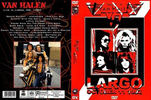 Van Halen - Live In Largo - 1982 - DVD