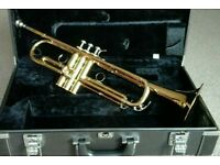 YAMAHA YTR 6310Z BOBBY SHEW TRUMPET, GOLD LACQUER, EXCELLENT CONDITION