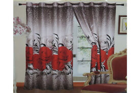 A pair of amazing 3D curtains
