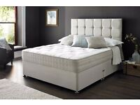【CASH ON DELIVERY】GOOD QUALITY DIVAN BED IN SINGLE,DOUBLE,KING WITH MATRESS & HEADBOARD