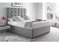 Diamond Cube Divan Bed With Balmoral Mattress From £250