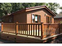 Newly refurbished lodge for sale on Sandy Balls