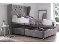 Luxury crushed velvet beds set