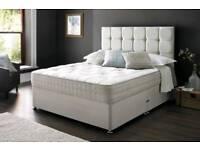 Divan bed complete set!! Bargain! Free delivery!